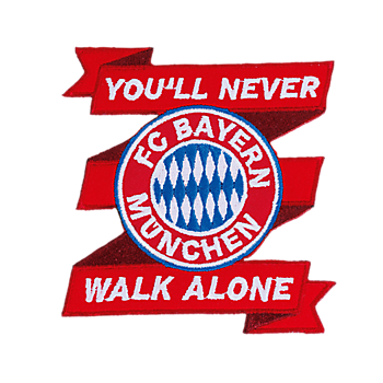Sew-On Patch You'll never walk alone