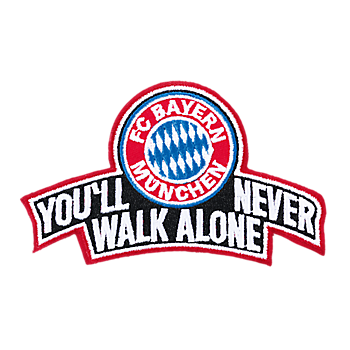 Aufnäher You'll never walk alone