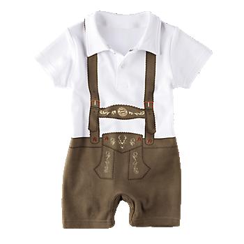 Babies' Bodysuit Lederhosen