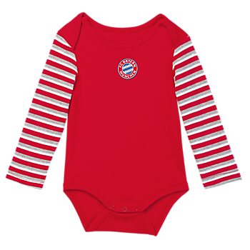 Baby Long-Sleeve Bodysuit Striped