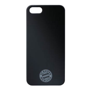 Back Cover Logo Black iPhone 5/5S
