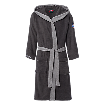 Bathrobe anthracite