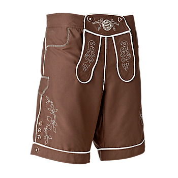 Beach Shorts Lederhose
