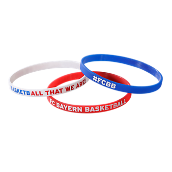 Basketball 3er Armband-Set