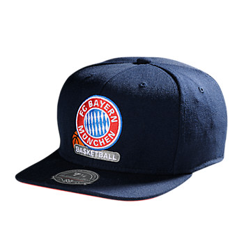 Basketball Baseballcap navy RF (Mitchell & Ness)