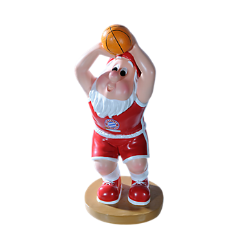 Basketball Garden Gnome