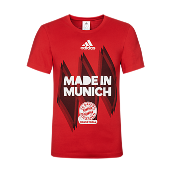 "Basketball Kinder T-Shirt ""Made in Munich"""