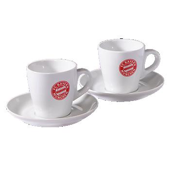 Cappuccino-Tassen 2er Set