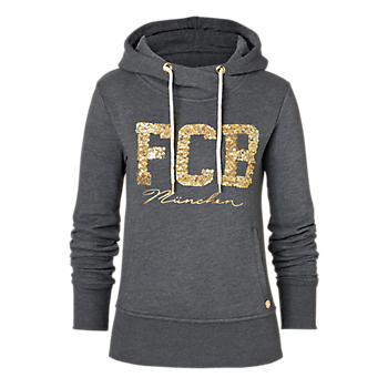 "Hoodie Lady ""FCB München"" anthracite"