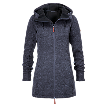 Womens Knitted Fleece Jacket