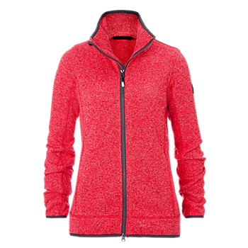 Damen Strickfleecejacke light