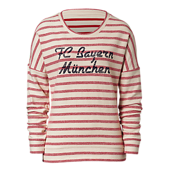 Lady Sweat Shirt Stripes FC Bayern