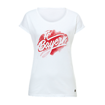 Damen T-Shirt Aquarell