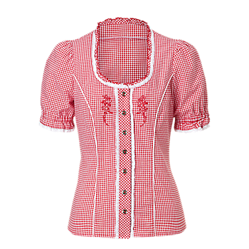 Women's Traditional Blouse Checked