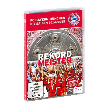 DVD Saison 2014/15