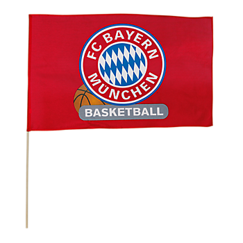 Flag Basketball 60x40 cm incl. stick
