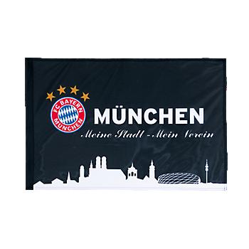 Flag München black 90 x 60 cm