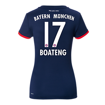 FC Bayern Women Jersey Away 17/18