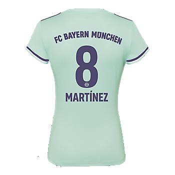 Camiseta de visitante para mujer FC Bayern München 18/19