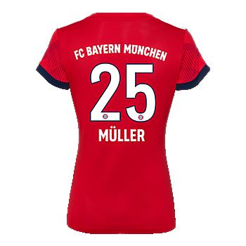 Camiseta de local para mujer FC Bayern München 18/19