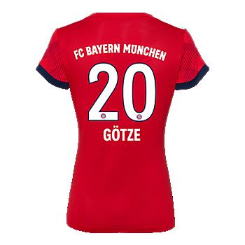 FC Bayern Women Shirt Home 18/19