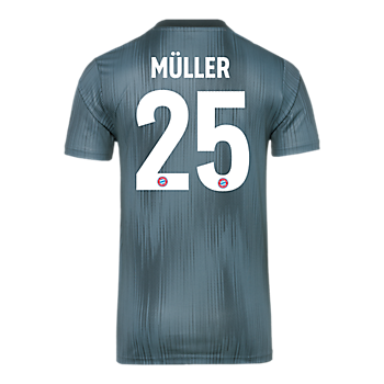 Camiseta infantil FC Bayern Champions League 18/19