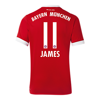 james rodriguez jersey official fc bayern online store. Black Bedroom Furniture Sets. Home Design Ideas