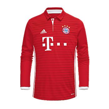 FC Bayern Shirt Kids Home Longsleeve 16/17