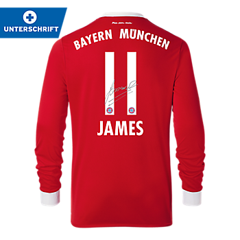 FC Bayern Kindertrikot Home Langarm 17/18
