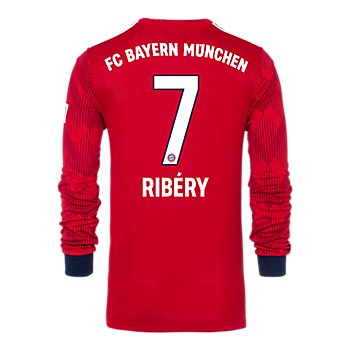 FC Bayern Kids Shirt Home Longsleeve 18/19