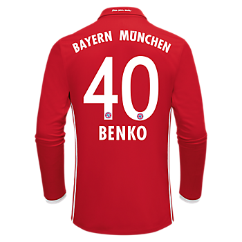 FC Bayern Kindertrikot Home Langarm 2016/17