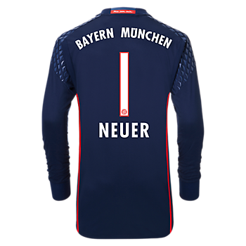 FC Bayern Shirt Kids Goalkeeper 2016/17