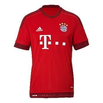 FC Bayern Home Shirt 15/16