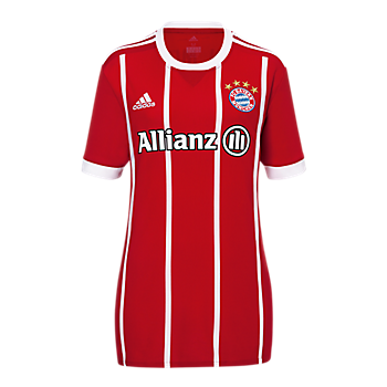 FC Bayern Jersey Home Women Soccer (Allianz) 2017/18