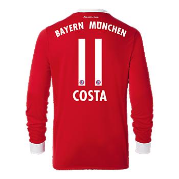 FC Bayern Trikot Home Langarm 17/18