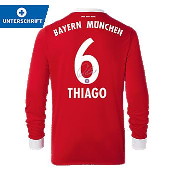 FC Bayern Shirt Home Longsleeve 17/18