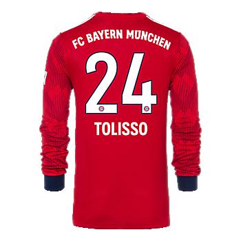 Camiseta de manga larga de local FC Bayern München 18/19