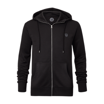 Hooded Tracksuit Top Black Badge