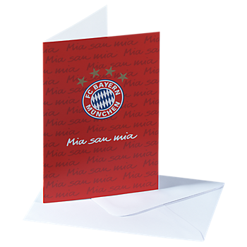 """Karte """"Mia san mia"""""""