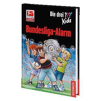Kinder Buch Die drei ???, Bundesliga Alarm