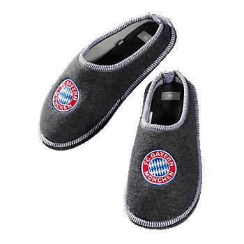 Kinder Filz-Pantoffeln Logo
