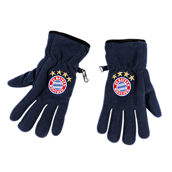 Fleece Gloves Logo Kids