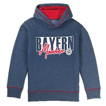 Kids' Bayern Hoodie Used Look