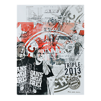 Kunstdruck Das Triple