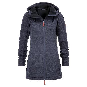 Womens Knitted Fleece Jacket