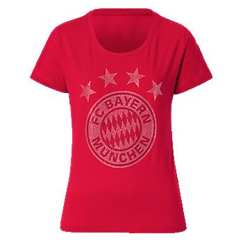 Ladies' T-Shirt Glitter Logo