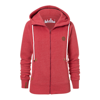 Ladies' Zip-Up Hoodie Badge