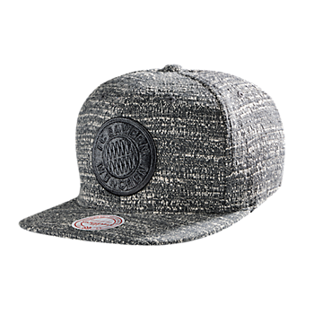 M&N Snapback Cap grey/white
