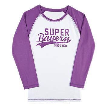 Mädchen Longsleeve Super Bayern