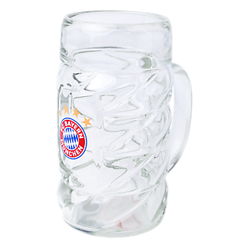Glass Beer Mug 1 l